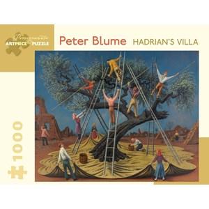 """Pomegranate (AA865) - Peter Blume: """"Hadrian's Villa"""" - 1000 piezas"""