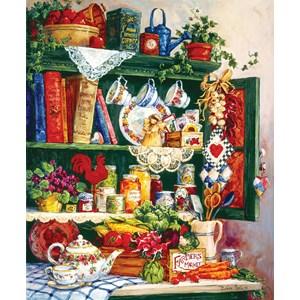 "SunsOut (31391) - Barbara Mock: ""Grandma's Cupboard"" - 1000 piezas"