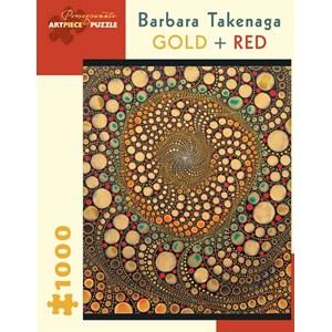 "Pomegranate (AA836) - Barbara Takenaga: ""Gold + Red"" - 1000 piezas"