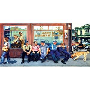 "SunsOut (25288) - Les Ray: ""Andy's Barbershop Friends"" - 1000 piezas"