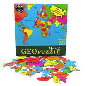 "Geo Toys (GEO 106) - ""World"" - 68 piezas"