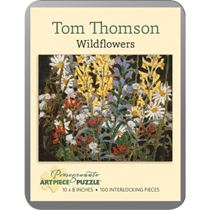 "Pomegranate (AA840) - Tom Thomson: ""Wildflowers"" - 100 piezas"