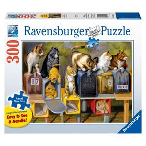 "Ravensburger (13562) - Bryan Moon: ""Cat's Got Mail"" - 300 piezas"