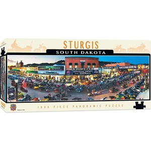 """MasterPieces (71726) - James Blakeway: """"Sturgis, South Dakota"""" - 1000 piezas"""