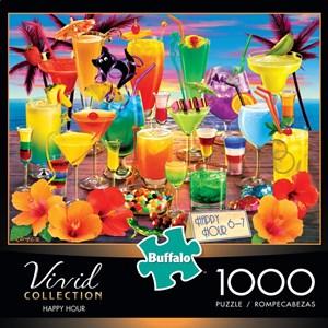 "Buffalo Games (11705) - Royce B. McClure: ""Happy Hour"" - 1000 piezas"