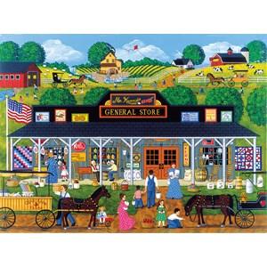 """SunsOut (61321) - Sheila Lee: """"McKenna's General Store"""" - 1000 piezas"""