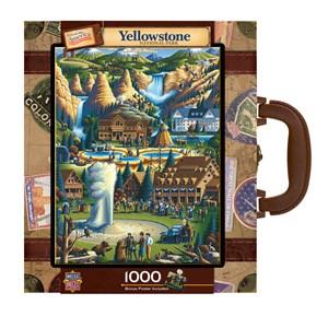 "MasterPieces (71171) - Eric Dowdle: ""Yellowstone"" - 1000 piezas"