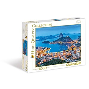 "Clementoni (39258) - ""Rio de Janeiro"" - 1000 piezas"
