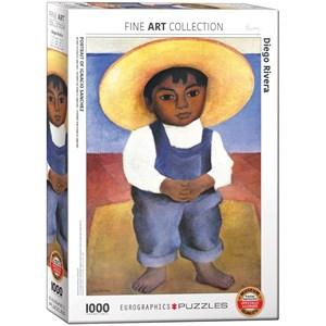 "Eurographics (6000-0799) - Diego Rivera: ""Portrait of Ignacio Sanchez"" - 1000 piezas"