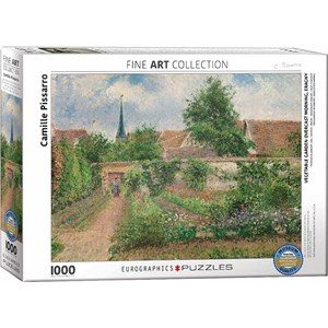 "Eurographics (6000-0825) - Pissaro Camille: ""Vegetable Garden Overcast Morning"" - 1000 piezas"