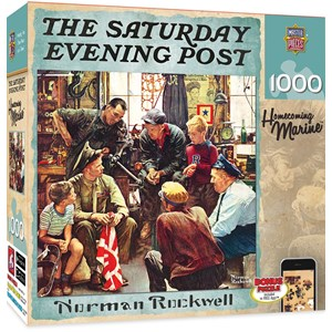 """MasterPieces (71366) - Norman Rockwell: """"Return to the Marin home"""" - 1000 piezas"""
