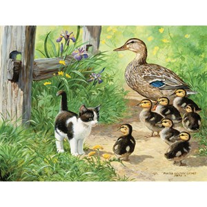 """SunsOut (51917) - Persis Clayton Weirs: """"Duck Inspector"""" - 500 piezas"""