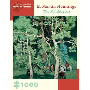 "Pomegranate (AA899) - Ernest Martin Hennings: ""The Rendezvous"" - 1000 piezas"