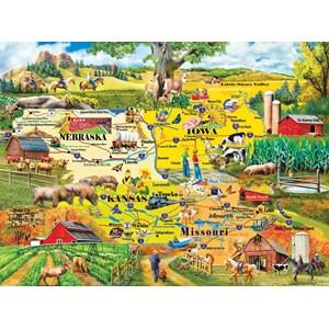 "SunsOut (58253) - Mary Thompson: ""The Heartland"" - 1000 piezas"