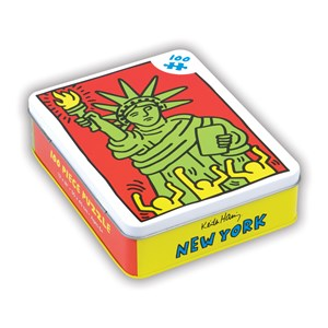 "Chronicle Books / Galison - Keith Haring: ""New York"" - 100 piezas"