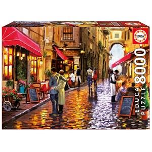 "Educa (16788) - ""Café Street"" - 8000 piezas"