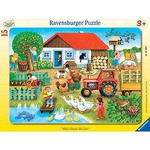 """Ravensburger (06020) - """"Where to Put it"""" - 15 piezas"""