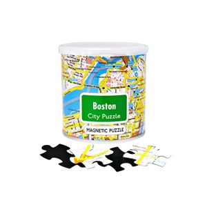 "Geo Toys (GEO 221) - ""City Magnetic Puzzle Boston"" - 100 piezas"