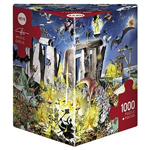 "Heye (29751) - Giuseppe Calligaro: ""Mystic Circle"" - 1000 piezas"