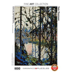 "Eurographics (6000-0922) - Tom Thomson: ""Study for Northern River"" - 1000 piezas"