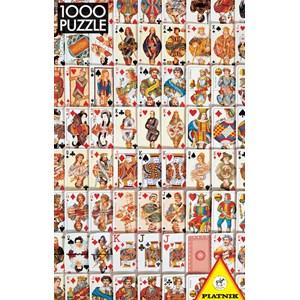 "Piatnik (543746) - ""Playing Cards"" - 1000 piezas"