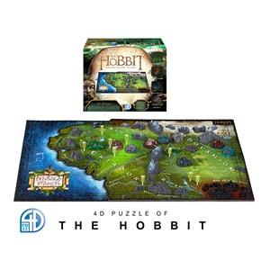 """4D Cityscape (51100) - """"4D Hobbit Middle Earth"""" - 1390 piezas"""