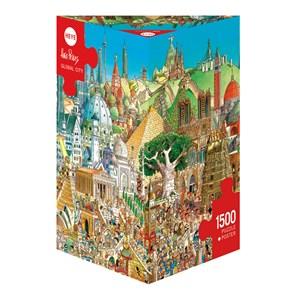 "Heye (29634) - Hugo Prades: ""Global City"" - 1500 piezas"