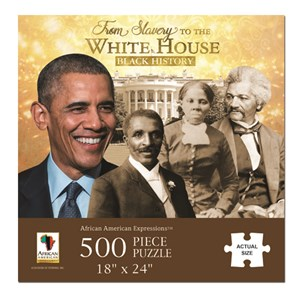 """African American Expressions (PUZ-11) - """"From Slavery to the White House"""" - 500 piezas"""