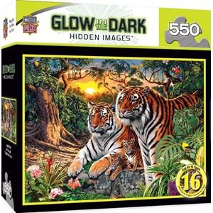"""MasterPieces (31744) - Steve Read: """"Jungle Pride"""" - 550 piezas"""
