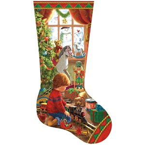 "SunsOut (97108) - Liz Goodrick-Dillon: ""A Boy's Stocking"" - 800 piezas"