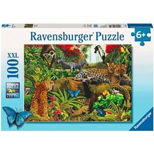 "Ravensburger (10781) - Mary Thompson: ""Wild Jungle"" - 100 piezas"