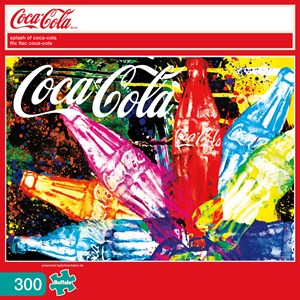 "Buffalo Games (2474) - ""Splash of Coca-Cola (Coca-Cola)"" - 300 piezas"