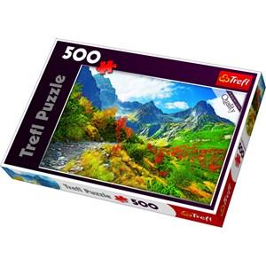 """Trefl (371901) - Jan Wlodarczyk: """"Autumn Tatras, Poland"""" - 500 piezas"""