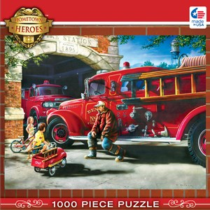 "MasterPieces (71630) - Dan Hatala: ""Firehouse Dreams"" - 1000 piezas"