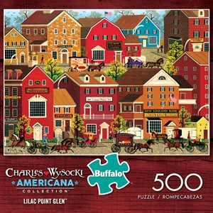 "Buffalo Games (3715) - Charles Wysocki: ""Lilac Point Glen"" - 500 piezas"