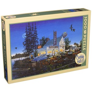 "Cobble Hill (51740) - William Kreutz: ""Bait and Breakfast"" - 1000 piezas"