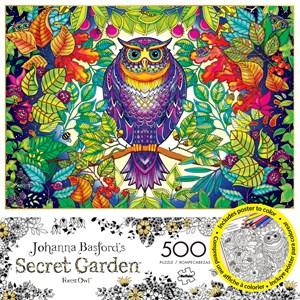 "Buffalo Games (3842) - Johanna Basford: ""Forest Owl"" - 500 piezas"