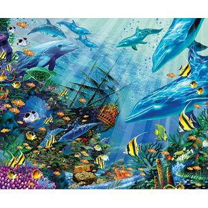 "SunsOut (80121) - John Enright: ""Return to Treasure Island"" - 1000 piezas"