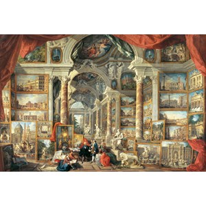 "Ravensburger (17409) - Giovanni Paolo Panini: ""Views of Modern Rome"" - 5000 piezas"
