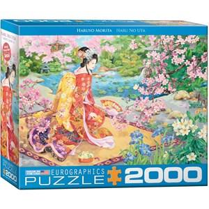 """Eurographics (8220-0975) - Haruyo Morita: """"Haru No Uta"""" - 2000 piezas"""