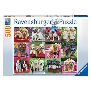 "Ravensburger (14659) - Keith Kimberlin: ""Puppy Pals"" - 500 piezas"