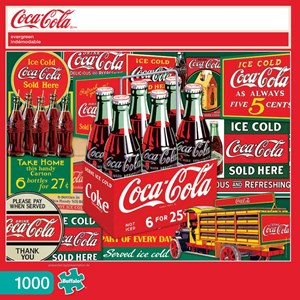 "Buffalo Games (11269) - ""Evergreen (Coca-Cola)"" - 1000 piezas"