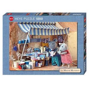 "Heye (29659) - Karina Schaapman: ""Mouse Mansion, Market Stand"" - 1000 piezas"
