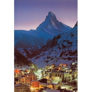 "Tomax Puzzles (30-032) - ""Night in Zermatt"" - 300 piezas"