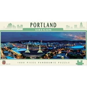 """MasterPieces (71590) - James Blakeway: """"Portland"""" - 1000 piezas"""