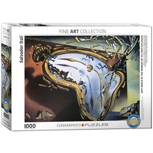 "Eurographics (6000-0842) - Salvador Dali: ""Soft Watch at the Moment of its First Explosion"" - 1000 piezas"