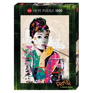 "Heye (29684) - Johnny Cheuk: ""Audrey"" - 1000 piezas"