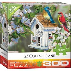 "Eurographics (8300-0601) - Janene Grende: ""23 Cottage Lane"" - 300 piezas"
