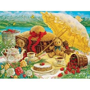 "Cobble Hill (52089) - Janet Kruskamp: ""Teddy Bear Picnic"" - 500 piezas"