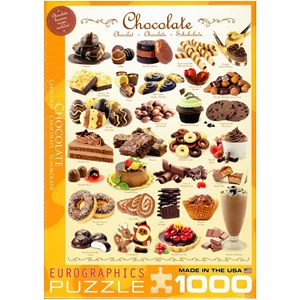 """Eurographics (6000-0411) - """"Chocolate"""" - 1000 piezas"""